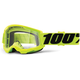 100% Strata Anti-Fog Goggles Gen2 Jugend fluo yellow/clear
